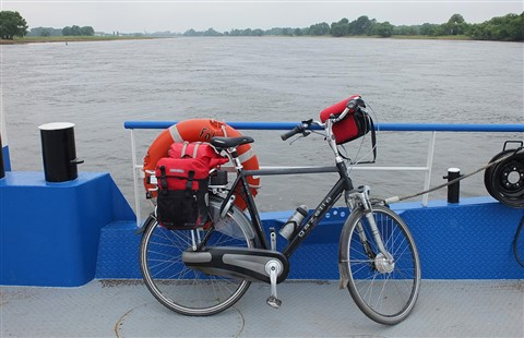 crossing the Elbe in the North