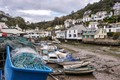 Harbour in the fishing villlage of Polperro, Cornwall