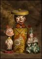 Clown-Town-Family-Portrait