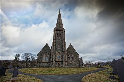 Eglwys church Dinorwig