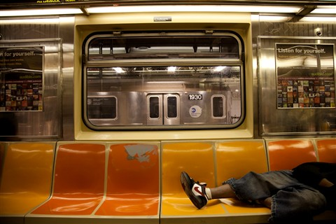 Sleepy Subway