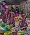 Market at Solila, Guatemala