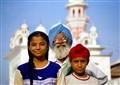 A Sikh family