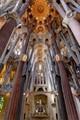 Gaudi's basilica in Barcelona