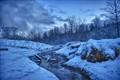 Unfrozen Winter Creek