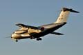 C-1FTB landing into setting sun