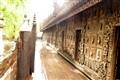All Teak Ancient doors, Mandalay, Burma
