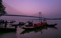 Evening light sweeping on the River Ganga,no-1