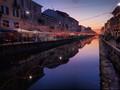 Sunset on the Naviglio