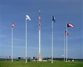 Flags at Ft. Sumter, Charleston, SC
