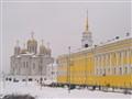 Center of Vladiimir town in Russia