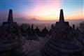 Borobudur, Buddhist monument, Central Java, Indonesia