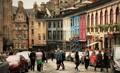 Edinburgh, Victoria street.
