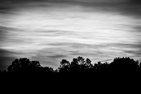 Sunset Snapshot B&W