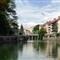Ljubljana - fish eye view