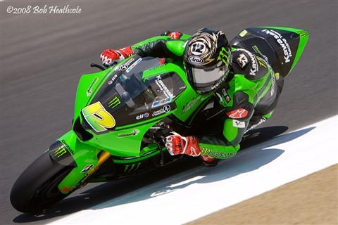 Jamie Hacking, MotoGP at Laguna Seca