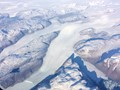 Flying over Greenland...