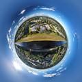 polar drone panorama