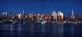 NY City Sunset Panorama 291-294