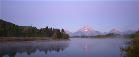 Teton Sunrise at Oxbow Bend