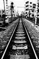Train Tracks in Tokyo