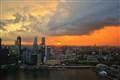 Sunset @ Lioncity- Singapore