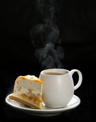 Coffee and Mango cake