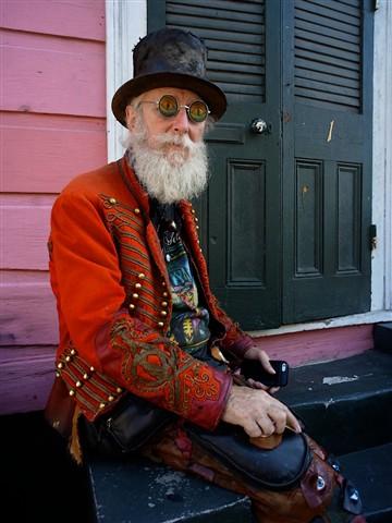 New Orleans artist Amzie