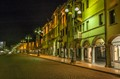 Street at Night, Belluno, Italy