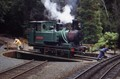 Wilderness Railway on turntable