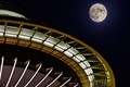 Moon and Space Needle