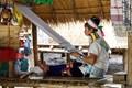 Karon tribe weaver in Northern Thailand