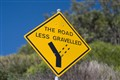 (Take) the road less gravelled