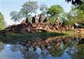 Banteay Srei temple from the back