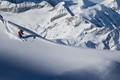 Jurg skiing in Zermatt