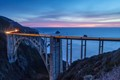 Bixby bridge and the Pacific ocean