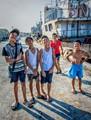 Boys, Iloilo City Wharf, Philippines