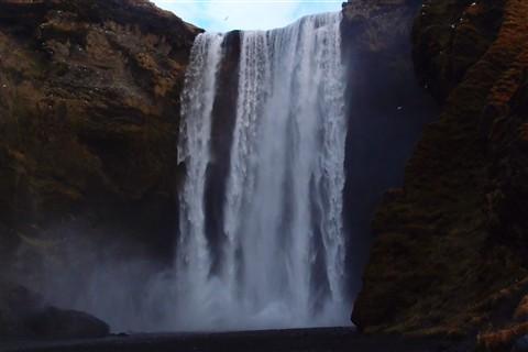 Skogarfoss Water Fall