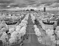 Paris from above (infrared)