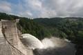 Lavalette dam (France, Haute-Loire)