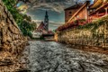 Vltava River-Cesky Krumlov