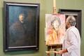 Copying Rembrandt