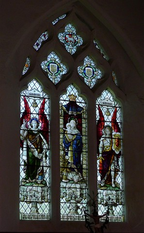 William Morris Stained Glass - All Saints Godshill IOW