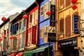 Exhilatating vibrant facades