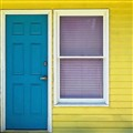 Blue Door, Yellow House, Pink Window....