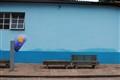 Lencrois bus stop benches