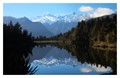 Reflections in Lake Matheson panorama