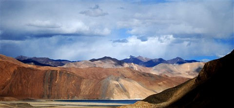 Pangong Lake First View