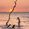 Sunset at Beach 69: Puako, Hawaii