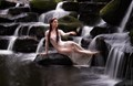 A water nymph of Venus, in her waterfall